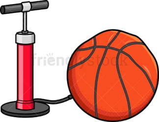 Ball air pump. PNG - JPG and vector EPS file formats (infinitely scalable). Image isolated on transparent background.