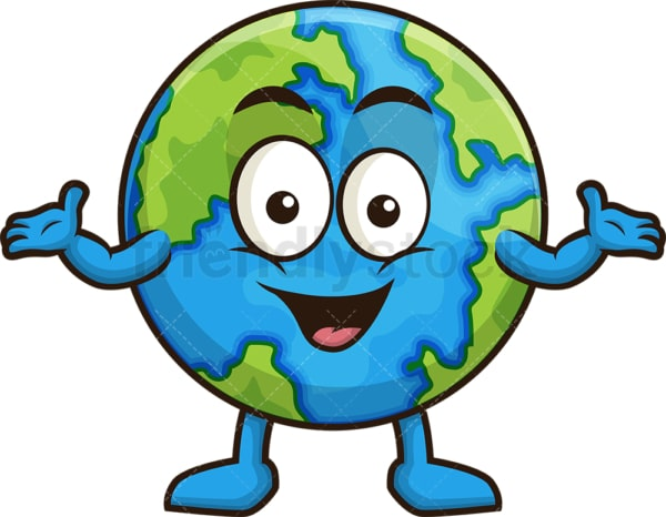 Welcoming earth. PNG - JPG and vector EPS (infinitely scalable).