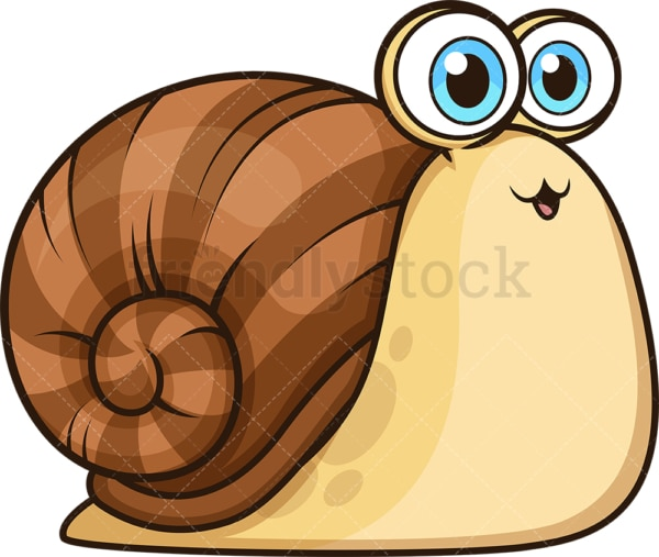 Cute baby snail. PNG - JPG and vector EPS (infinitely scalable).