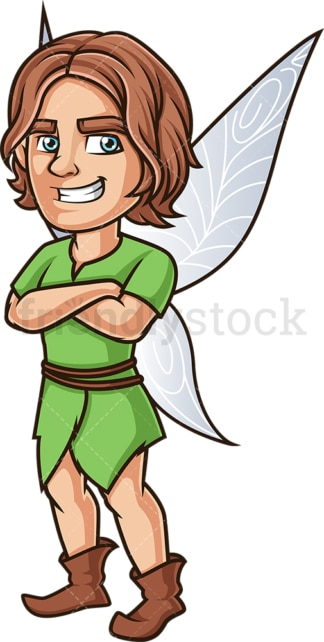 Boy fairy. PNG - JPG and vector EPS (infinitely scalable).