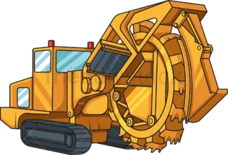 Realistic trencher. PNG - JPG and vector EPS file formats (infinitely scalable). Image isolated on transparent background.