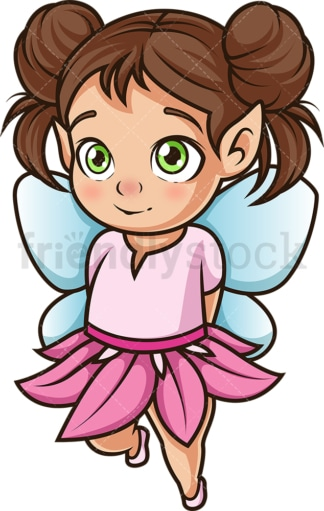 Baby fairy. PNG - JPG and vector EPS (infinitely scalable).