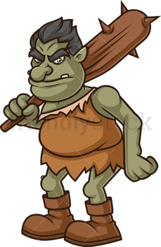 Forest troll. PNG - JPG and vector EPS (infinitely scalable).