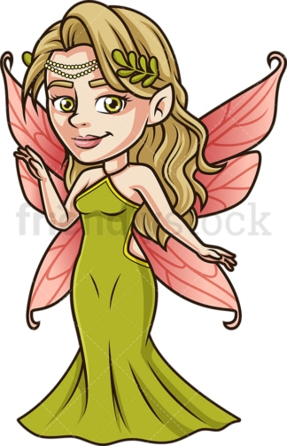Forest fairy. PNG - JPG and vector EPS (infinitely scalable).