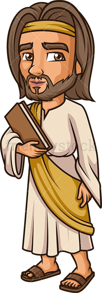 Matthew The Apostle. PNG - JPG and vector EPS file formats (infinitely scalable). Image isolated on transparent background.