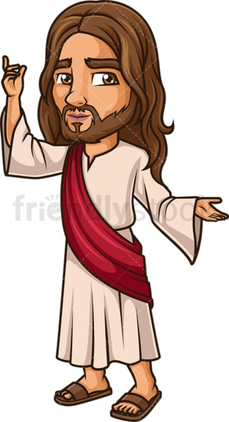 Jesus Christ Preaches. PNG - JPG and vector EPS (infinitely scalable).