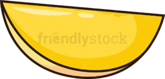 Mango slice. PNG - JPG and vector EPS file formats (infinitely scalable). Image isolated on transparent background.