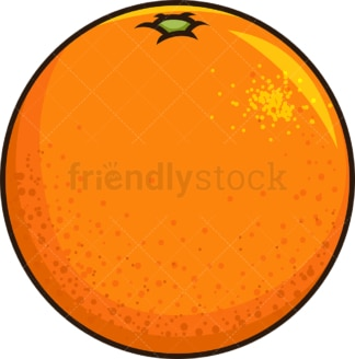 Orange fruit. PNG - JPG and vector EPS file formats (infinitely scalable). Image isolated on transparent background.