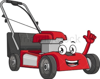 Presenting lawn mower. PNG - JPG and vector EPS (infinitely scalable).
