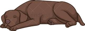 Pointer sleeping. PNG - JPG and vector EPS (infinitely scalable).