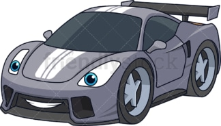 Sport racing car. PNG - JPG and vector EPS (infinitely scalable).