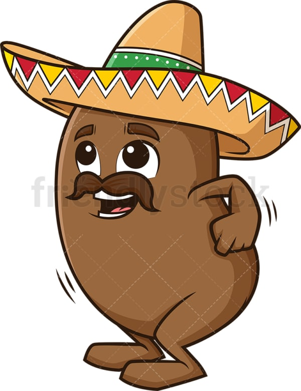 Mexican jumping bean. PNG - JPG and vector EPS (infinitely scalable).