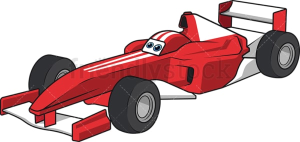 Formula one racing car. PNG - JPG and vector EPS (infinitely scalable).