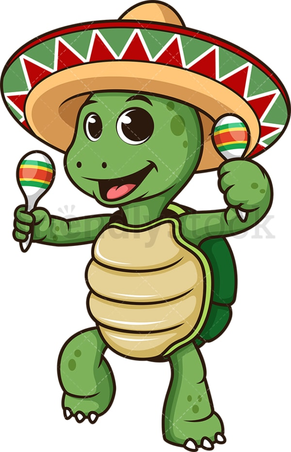 Mexican turtle. PNG - JPG and vector EPS (infinitely scalable).
