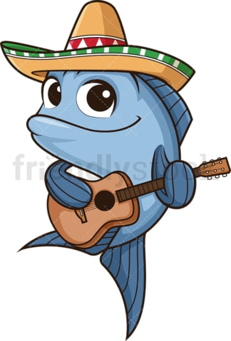 Mexican fish. PNG - JPG and vector EPS (infinitely scalable).
