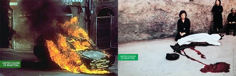 Benetton Ad- Iconic Memories