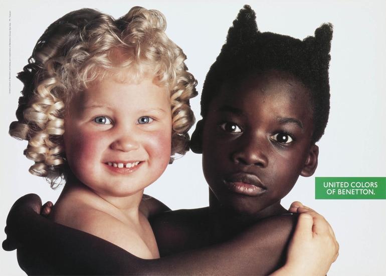 Benetton Ad 1982 - Ebony & Ivory