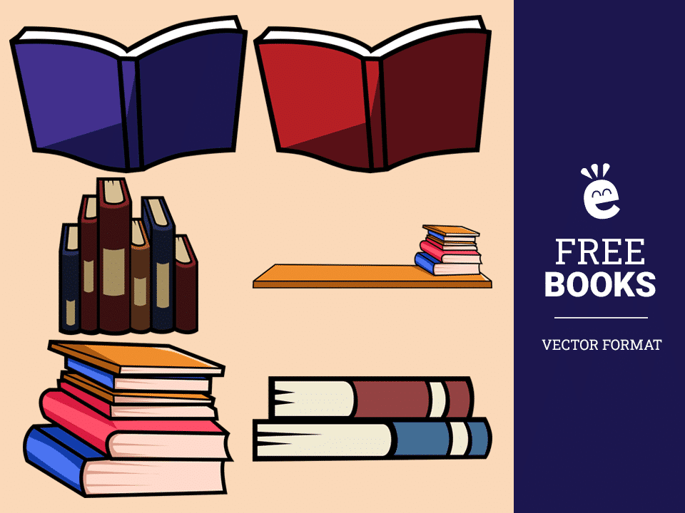 Books - Free Vector Graphics