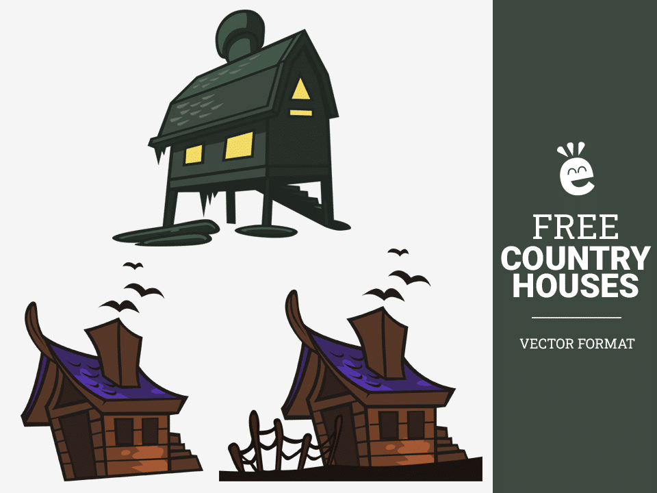 Haunted Houses - Free Vector Graphics
