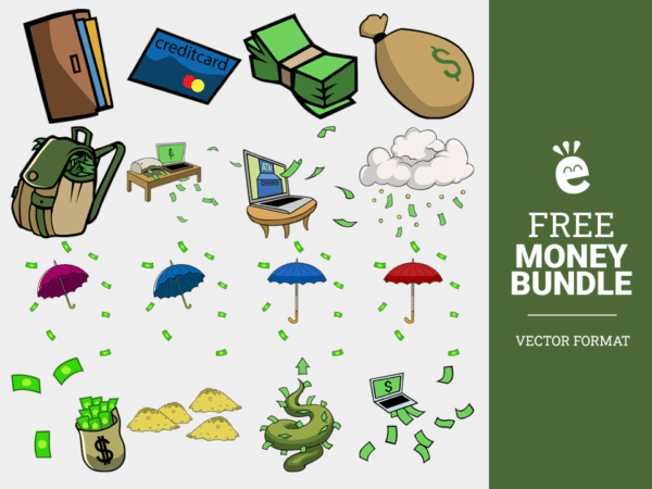 Money Objects - Free Vector Graphics