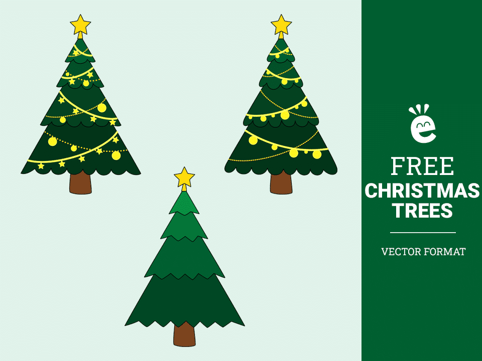 Christmas Trees - Free Vector Graphics