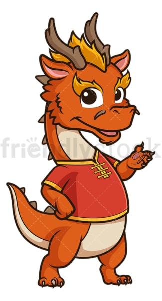 Chinese happy new year dragon. PNG - JPG and vector EPS (infinitely scalable).