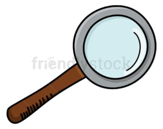 Magnifying glass. PNG - JPG and vector EPS (infinitely scalable).
