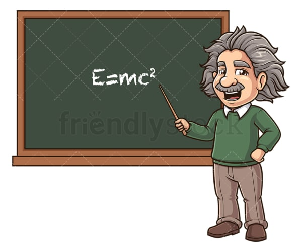 Albert einstein theory of relativity. PNG - JPG and vector EPS (infinitely scalable).