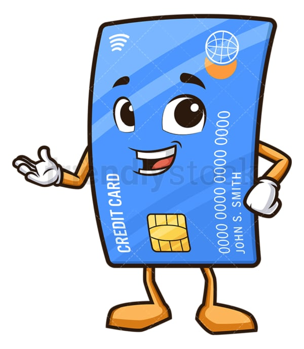 Presenting debit card. PNG - JPG and vector EPS (infinitely scalable).