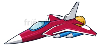 Retro fighter jet. PNG - JPG and vector EPS (infinitely scalable).