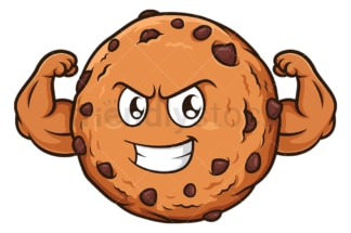 Tough cookie. PNG - JPG and vector EPS (infinitely scalable).