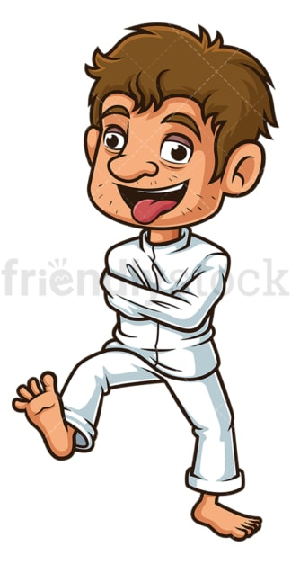 Crazy man in straitjacket. PNG - JPG and vector EPS file formats (infinitely scalable). Image isolated on transparent background.