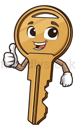 Key thumbs up. PNG - JPG and vector EPS (infinitely scalable).