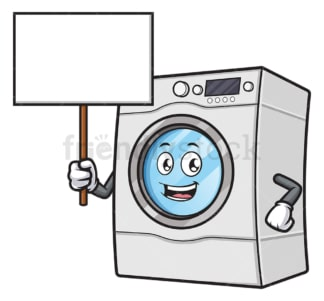 Washing machine blank sign. PNG - JPG and vector EPS file formats (infinitely scalable). Image isolated on transparent background.