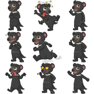 Tasmanian devil mascot. PNG - JPG and infinitely scalable vector EPS - on white or transparent background.