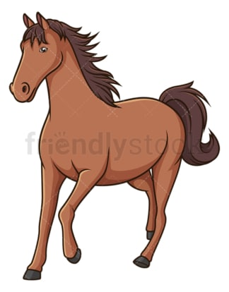 Horse running. PNG - JPG and vector EPS (infinitely scalable).