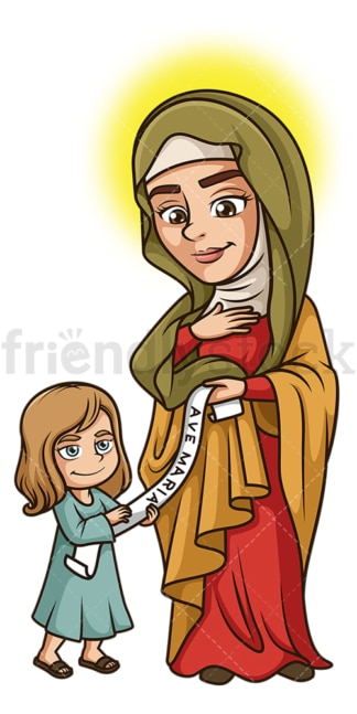 Saint anne. PNG - JPG and vector EPS file formats (infinitely scalable). Image isolated on transparent background.