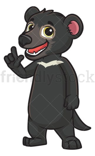 Tasmanian devil talking. PNG - JPG and vector EPS (infinitely scalable).
