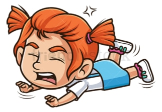 Angry ginger girl. PNG - JPG and vector EPS (infinitely scalable).