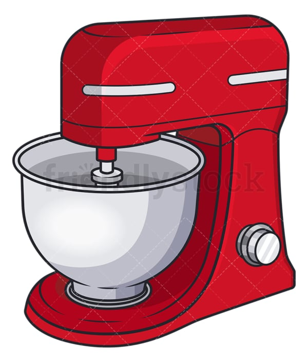 Electric mixer. PNG - JPG and vector EPS file formats (infinitely scalable). Image isolated on transparent background.