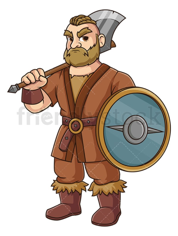 Ragnar lodbrok. PNG - JPG and vector EPS file formats (infinitely scalable). Image isolated on transparent background.