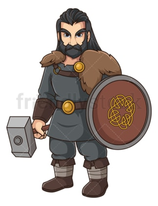 Halfdan ragnarsson. PNG - JPG and vector EPS file formats (infinitely scalable). Image isolated on transparent background.