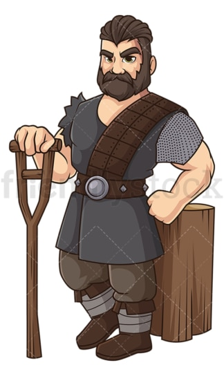 Ivar the boneless. PNG - JPG and vector EPS file formats (infinitely scalable). Image isolated on transparent background.
