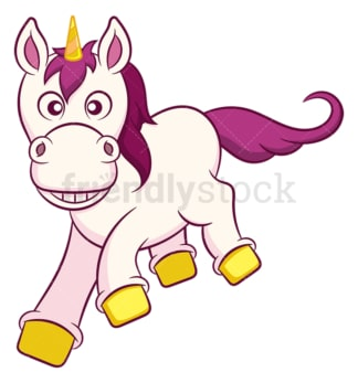 Funny unicorn. PNG - JPG and vector EPS (infinitely scalable).