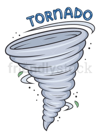 Weather emoji tornado. PNG - JPG and vector EPS file formats (infinitely scalable). Image isolated on transparent background.