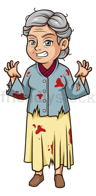 Old woman dressed for halloween. PNG - JPG and vector EPS (infinitely scalable).